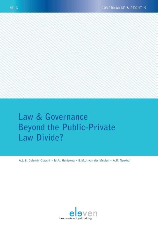 Beyond the public-private law divide? Ebook