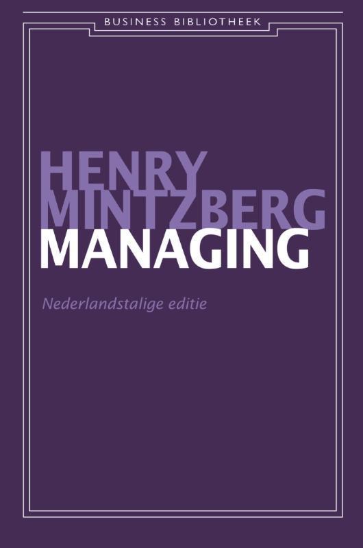 Simply managing Nederlandstalige editie, Mintzberg, Henry, Ebook