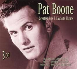 GREATEST HITS AND... ...FAVORITE HYMNS Audio CD, PAT BOONE, CD