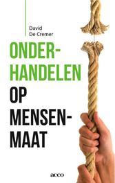 Onderhandelen op mensenmaat DE, CREMER DAVID, Ebook