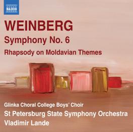 SYMPHONY NO.6 OP.79 ST.PETERSBURG STATE S.O./VLADIMIR LANDE M. WEINBERG, CD