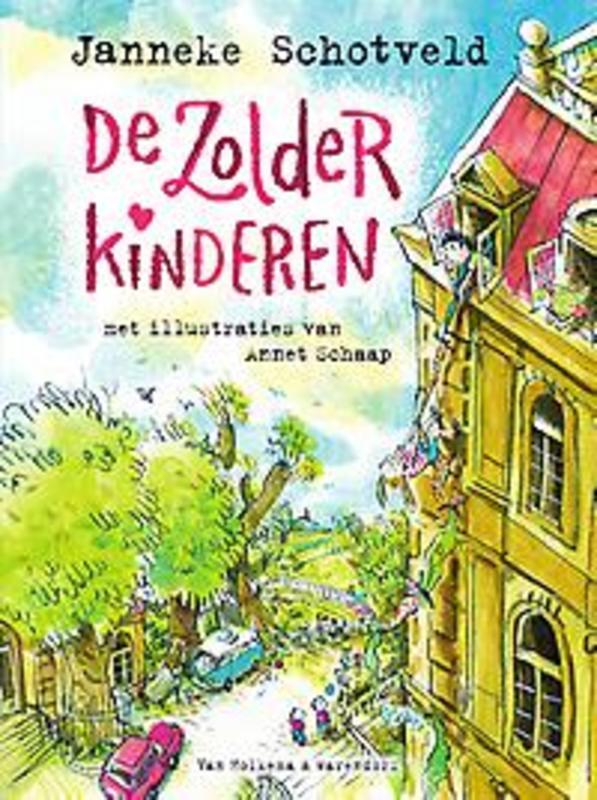 De zolderkinderen Schotveld, Janneke, Ebook