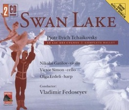 SWAN LAKE -COMPLETE- W/FEDOSEYEV, RUSSIAN TV & RADIO SYM.ORCHESTRA Audio CD, P.I. TCHAIKOVSKY, CD