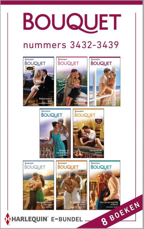 Bouquet e-bundel nummers 3432-3439 (8-in-1) Kendrick, Sharon, Ebook