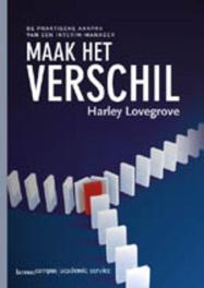 Maak het verschil (E-boek) Lovegrove, Harley, Ebook