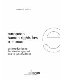 European human rights law a manual an introduction to the Strasbourg court and its jurisprudence, Popovi, Dragoljub, Ebook