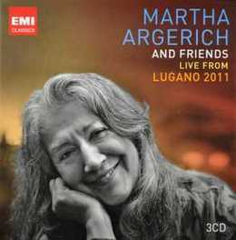 LIVE FROM LUGANO 2011 W/FRIENDS MARTHA ARGERICH, CD