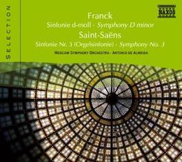 SYMPHONY IN D MINOR MOSCOW S.O./ALMEIDA FRANCK/SAINT-SAENS, CD