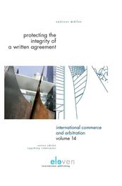 Protecting the integrity of a written agreement Muller, Andreas, Ebook