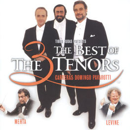 BEST OF THE 3 TENORS MAGGIO MUS.FIORENTINO, OPERA DI ROMA, L.A. PHILHARMONIC Audio CD, CARRERAS/DOMINGO/PAVAROTT, CD
