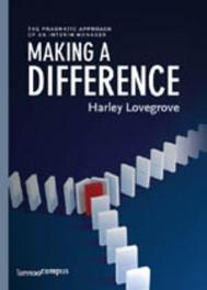 Making a difference (E-boek) Lovegrove, Harley, Ebook