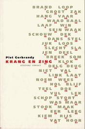 Krang en zing Gerbrandy, Piet, Ebook