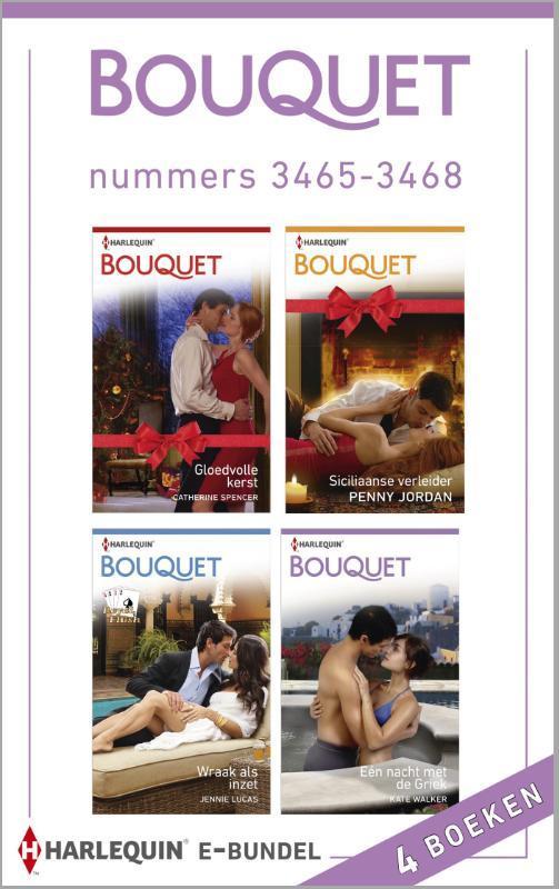 Bouquet e-bundel nummers 3465-3468 Spencer, Catherine, Ebook