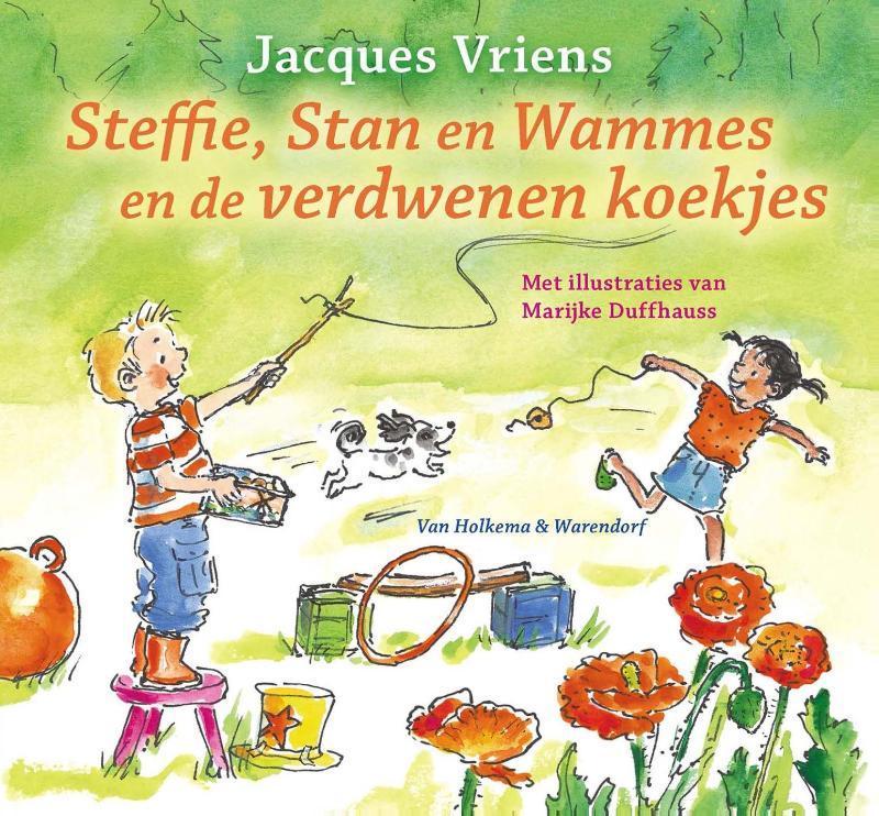 Steffie, Stan en Wammes en de verdwenen koekjes Vriens, Jacques, Ebook