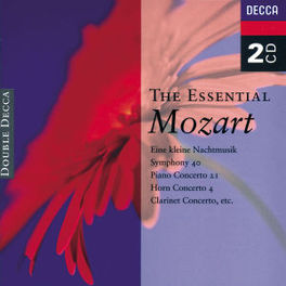 ESSENTIAL MOZART W/BERGANZA/PRICE/DE PEYER/LUPU/BONYNGE/A.O. Audio CD, W.A. MOZART, CD