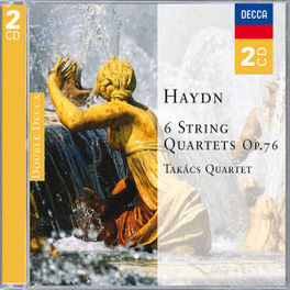 STRING QUARTETS TAKACS QUARTET Audio CD, J. HAYDN, CD
