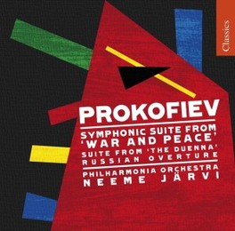WAR AND PEACE:SYMPHONIC S PHILHARMONIA ORCHESTRA/JARVI Audio CD, S. PROKOFIEV, CD