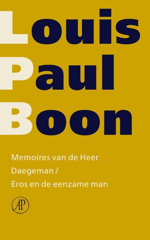 Memoires van de Heer Daegeman  Eros en de eenzame man Boon, Louis Paul, Ebook