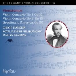 VIOLIN CONCERTO NO.1 & 2 ROYAL FLEMISH P.O./M.BRABBINS H. VIEUXTEMPS, CD