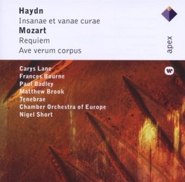 REQUIEM CHAMBER ORCHESTRA OF EUROPE MOZART/HAYDN, CD
