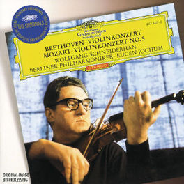 VIOLIN CONCERT IN D. -SCHNEIDERHAN/JOCHUM Audio CD, BEETHOVEN/MOZART, CD