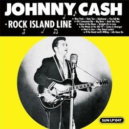 ROCK ISLAND LINE -HQ- 180GR. // REMASTERED FROM ORIGINAL TAPES JOHNNY CASH, LP
