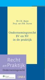 Ondernemingsrecht / BV en NV in de praktijk Buijn, F.K., Ebook