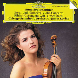VIOLIN CONCERT W/WOLFGANG RIHM, JAMES LEVINE, ALBAN BERG Audio CD, MUTTER, ANNE-SOPHIE, CD