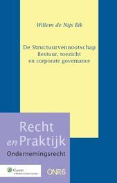 De structuurvennootschap bestuur, toezicht en corporate governance, Nijs Bik, W.W. de, Ebook