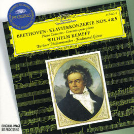 PIANOCONCERT 4 & 5 -KEMPFF/BERLINER PHILH./FERDIN LEITNER Audio CD, L. VAN BEETHOVEN, CD