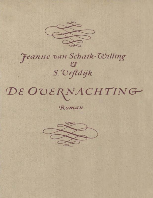 De overnachting Schaik-Willing, Jeanne van, Ebook