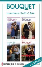 Bouquet e-bundel nummers 3461-3464 (4-in-1) Passie in Venetië ; Hartstocht en schandalen ; Onverwacht verlangen ; Zinderend kerstfeest, Morey, Trish, Ebook