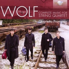 COMPLETE MUSIC FOR STRING QUARTETTO PROMETEO H. WOLF, CD