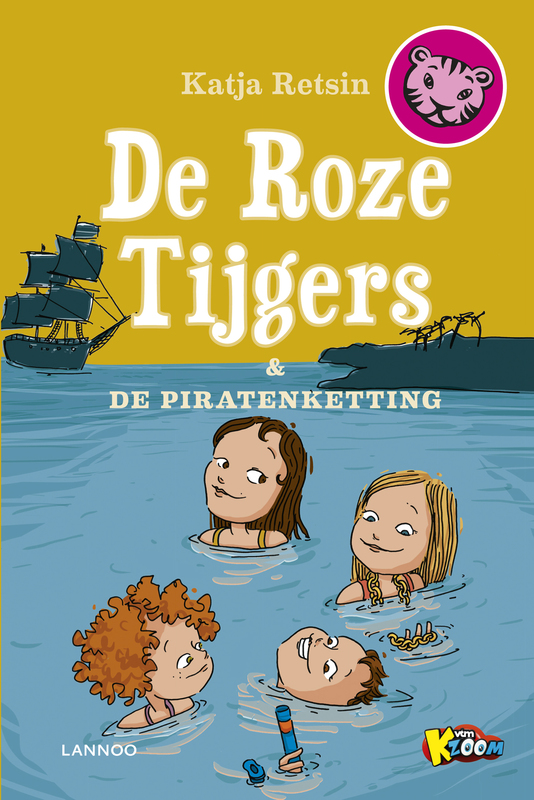 De roze tijgers en de piratenketting Retsin, Katja, Ebook