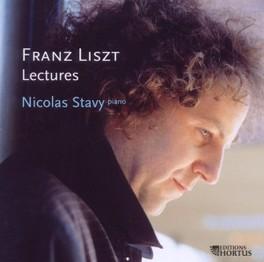 LECTURES NICOLAS STAVY F. LISZT, CD