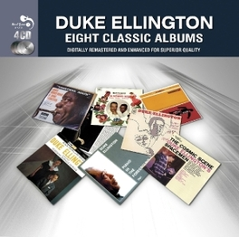 8 CLASSIC ALBUMS 8 CLASSIC ALBUMS ON A 4 CD SET DUKE ELLINGTON, CD