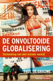 De ontvoltooide globalisering De Grauwe, Paul, Ebook