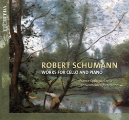 WORKS FOR CELLO & PIANO JAN VERMEULEN/FRANCE SPRINGUEL R. SCHUMANN, CD