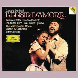 L'ELISIR D'AMORE PAVAROTTI/METROPLITAN OPERA ORCH&CH/LEVI Audio CD, G. DONIZETTI, CD
