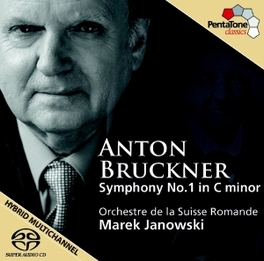 SYMPHONY NO.1 -SACD- ORCH.LA SUISSE ROMANDE/M.JANOWSKI A. BRUCKNER, CD