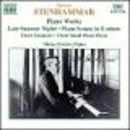 PIANO WORKS W/NIKLAS SIVELOV ON PIANO W. STENHAMMAR, CD