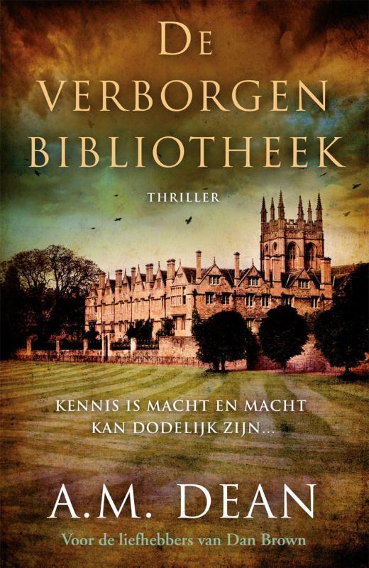De verborgen bibliotheek Dean, A.M., Ebook