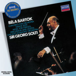 CONCERTO FOR ORCHESTRA/PI CHICAGO S.O./GEORG SOLTI Audio CD, B. BARTOK, CD