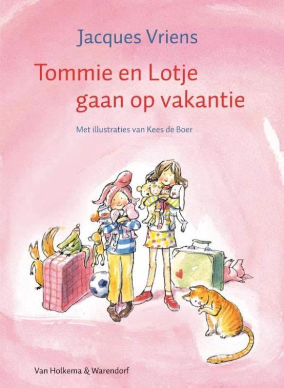 Tommie en Lotje gaan op vakantie Vriens, Jacques, Ebook
