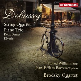 STRING QUARTET/PIANO TRIO BRODSKY QUARTET C. DEBUSSY, CD