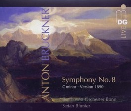 SYMPHONY NO.8 IN C MINOR BEETHOVEN ORCHESTER BONN/STEFAN BLUNIER A. BRUCKNER, CD