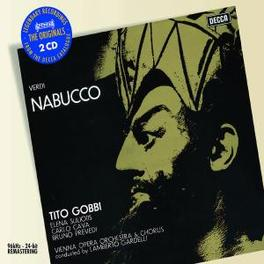 NABUCCO ELENA SULIOTIS/TITO GOBBI Audio CD, G. VERDI, CD