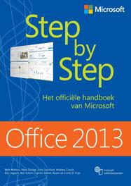 Office 2013 step by step het officiele handboek van Microsoft, Melton, Beth, Ebook