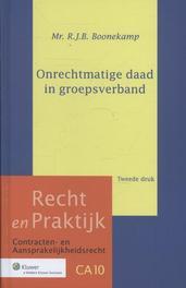 Onrechtmatige daad in groepsverband Boonekamp, R.J.B, Ebook