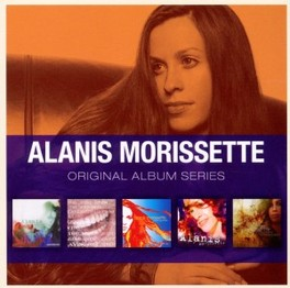 ORIGINAL ALBUM SERIES *JAGGED/SUPPOSED/UNDER RUG SWEPT/SO-CALLED/FLAVORS OF* ALANIS MORISSETTE, CD